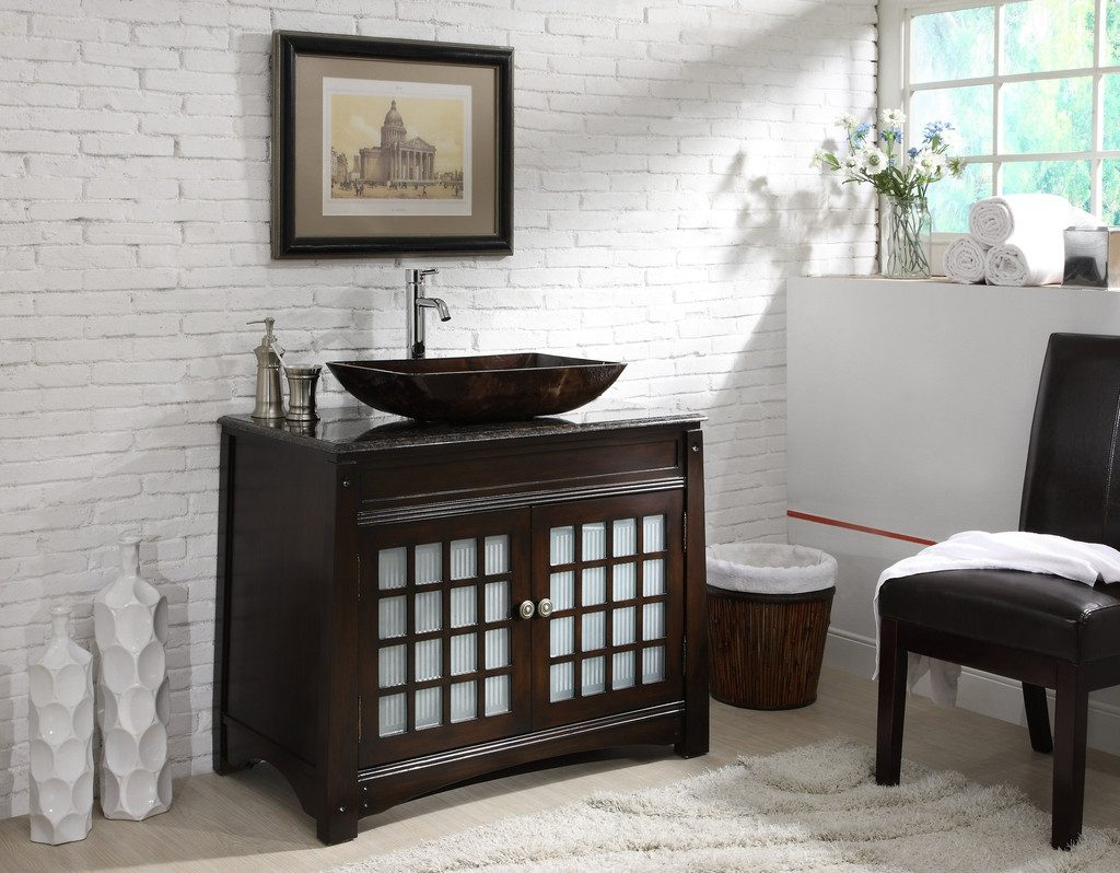 Bathroom Sink Bowl Sink Vanity Vanity With Vessel Sink Combo
