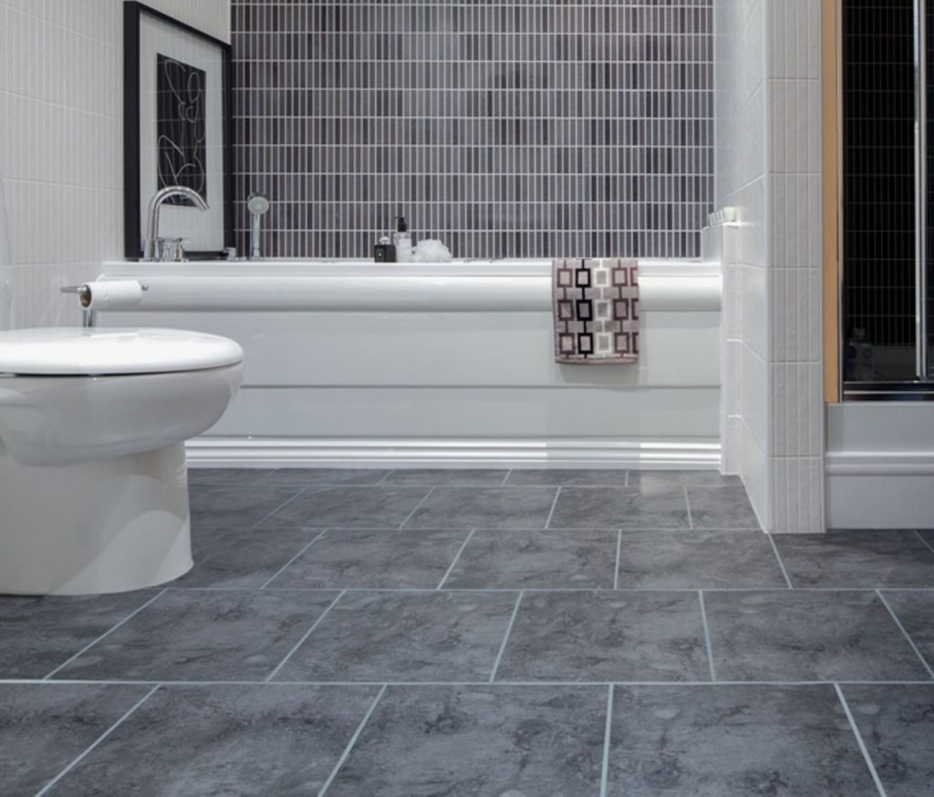 Bathroom Tile Floor The New Way Home Decor Modern Yet Nature