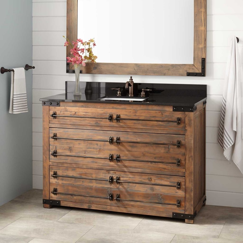 Bathroom Vanities And Vanity Cabinets Signature Hardware Regarding