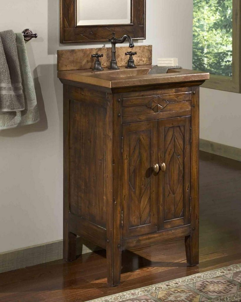Bathroom Vanities Rustic Look Auxlilasresto Design Rustic