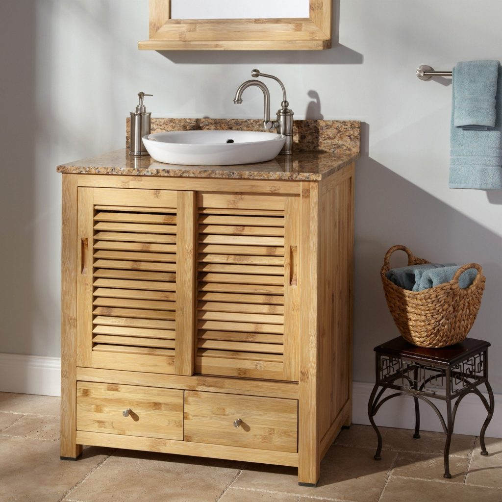Bathroom Vanities Rustic Look Custom Bathroom Vanities Western