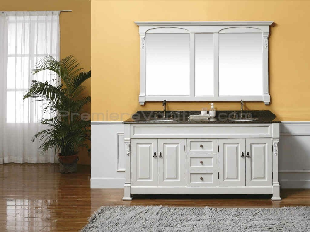 Bathroom Vanities With Two Sinks Cabinets 48 Inch Square Vanity And