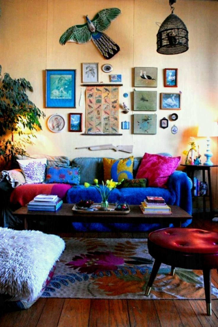 Bedroom Living Room Hippie Decor Ideas Bohemian Style With Heating
