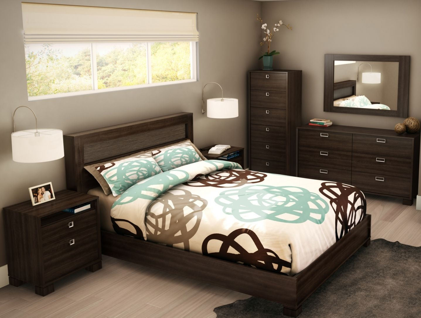 Bedroom Sets For Small Rooms Low Budget Bedroom Decorating Ideas