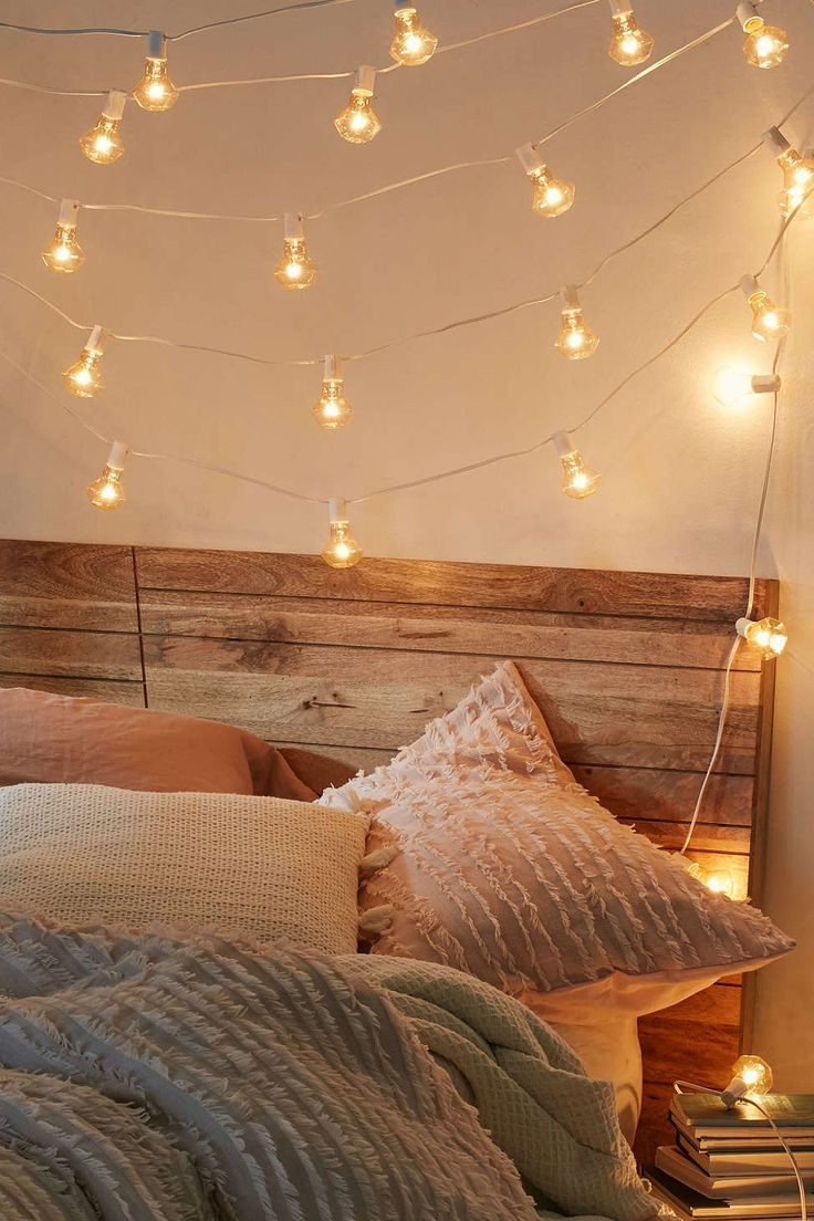 Bedroom String Lights Decorative Fabulous Limited Hanging Lights For Layjao