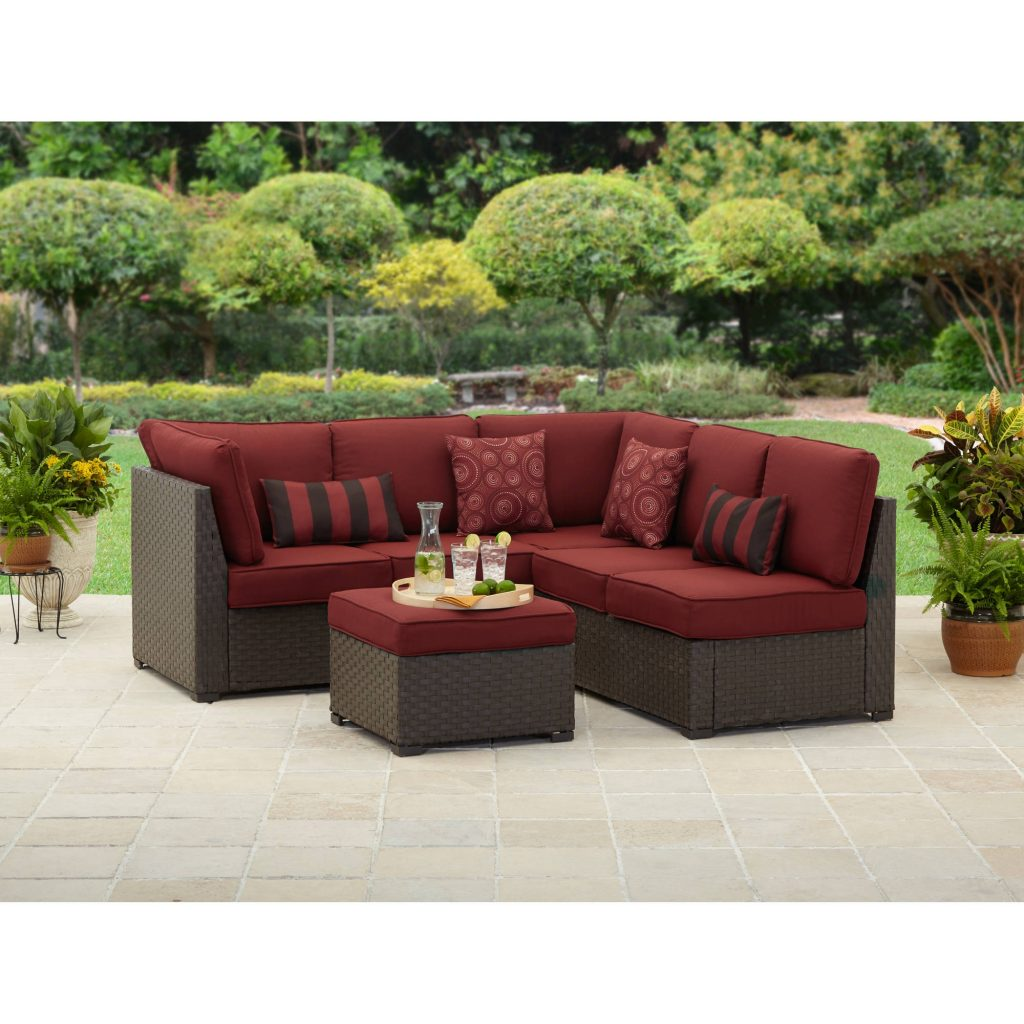 Better Homes And Gardens Rush Valley 3 Piece Outdoor Sectional From