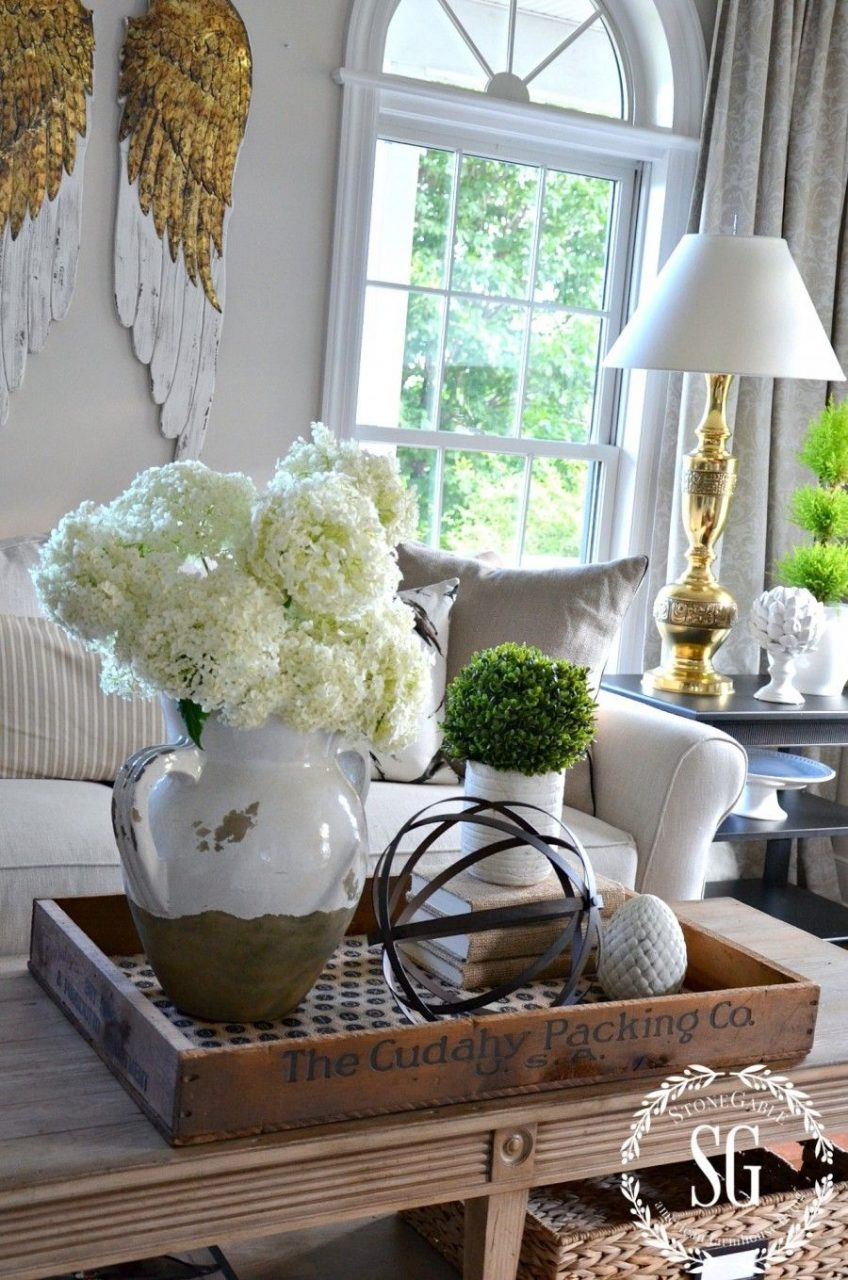 Bhome Summer Open House Tour Home Decor Pinterest Trays