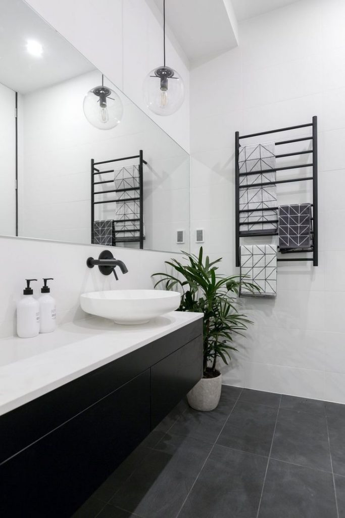 Black And Grey Bathroom Ideas The 25 Best Black White Bathrooms