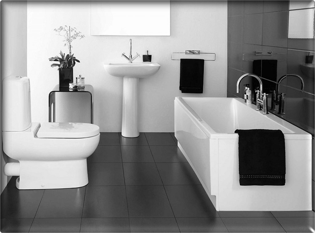 Black And White Bathroom Ideas 3 Bath Decors