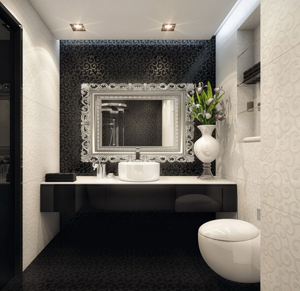 Black And White Bathroom Ideas Wywf Design On Vine