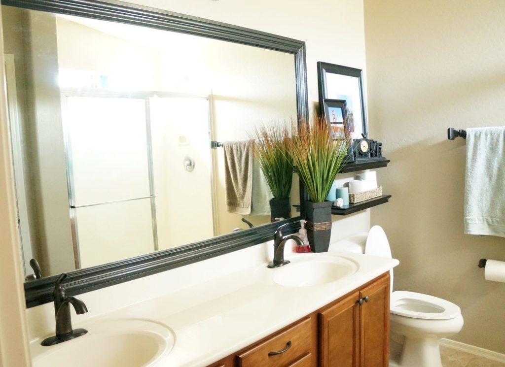 Black Frame Bathroom Mirror Top Bathroom Choose A Good Frame