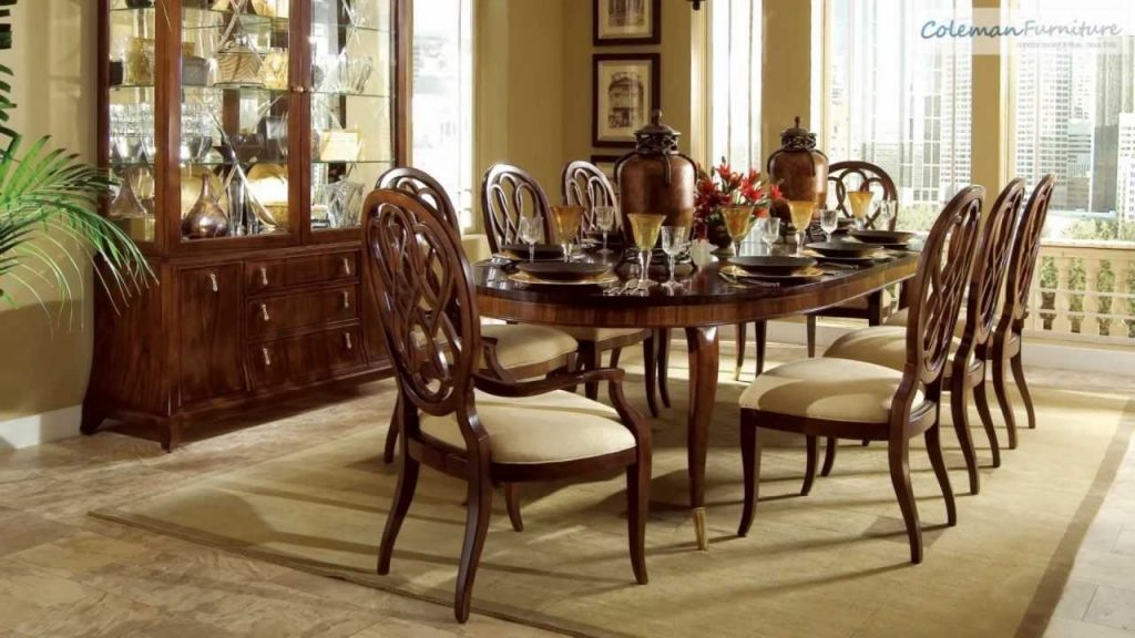 Bob Mackie Home Signature Oval Dining Room Collection From American