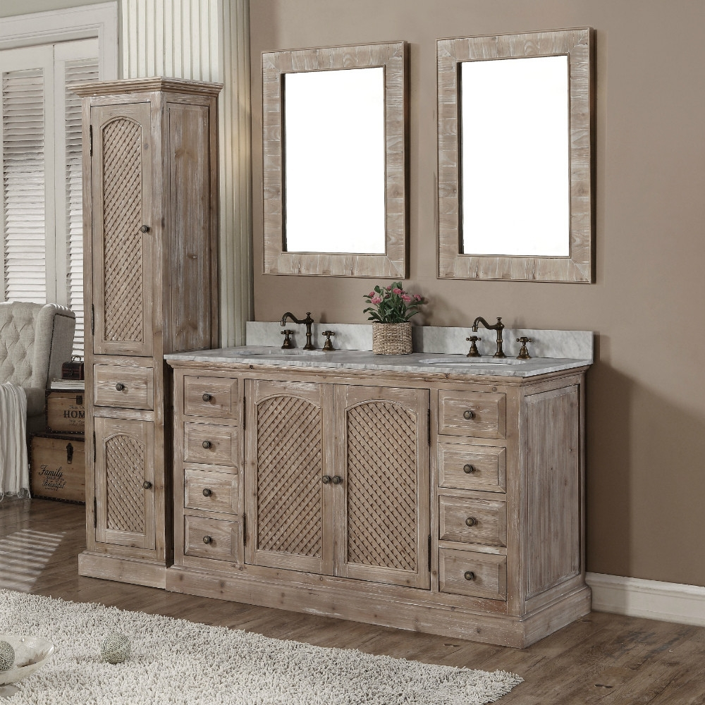 Book Of Bathroom Vanities With Linen Tower In Singapore Emily