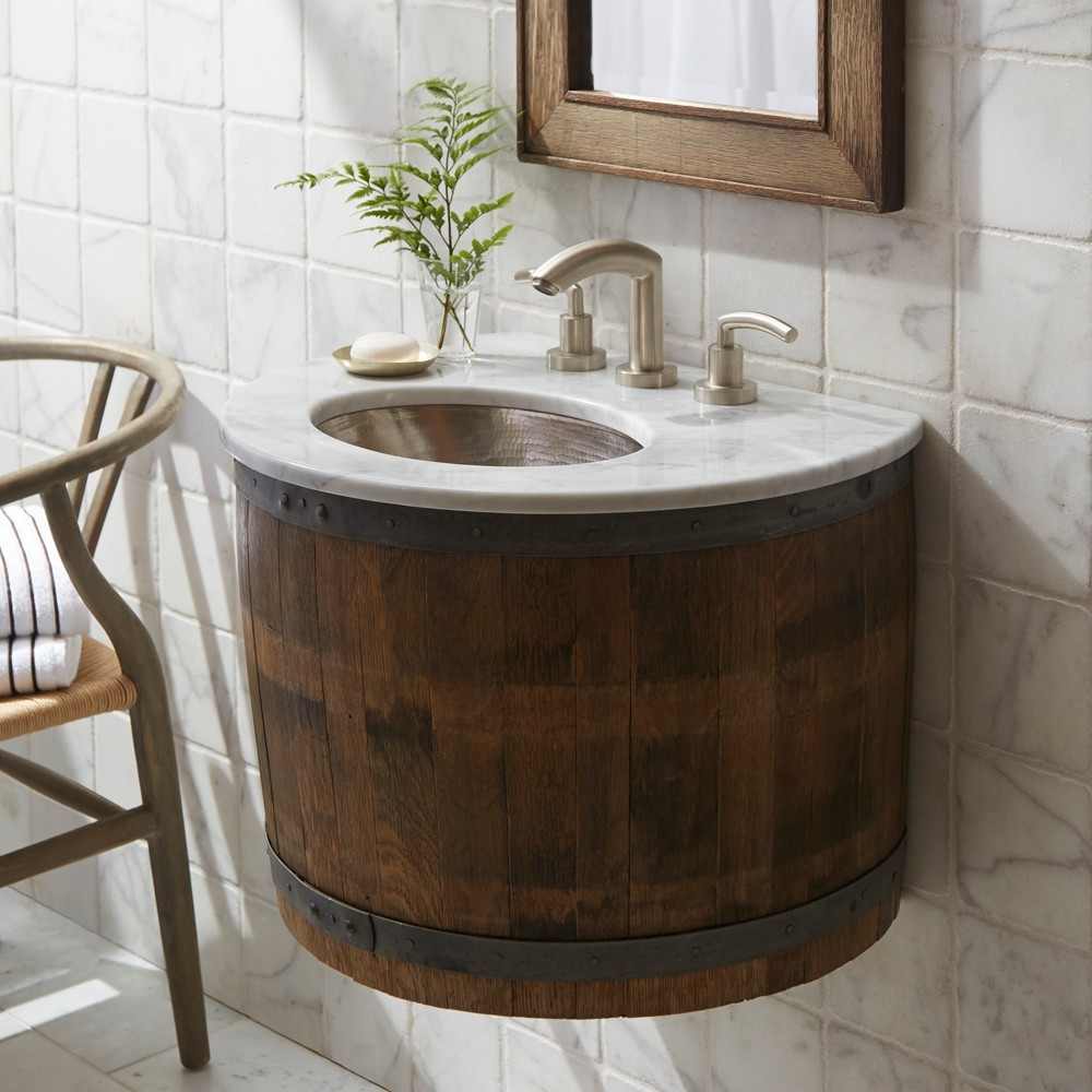Bordeaux Single Sink Bathroom Vanity Set Native Trails