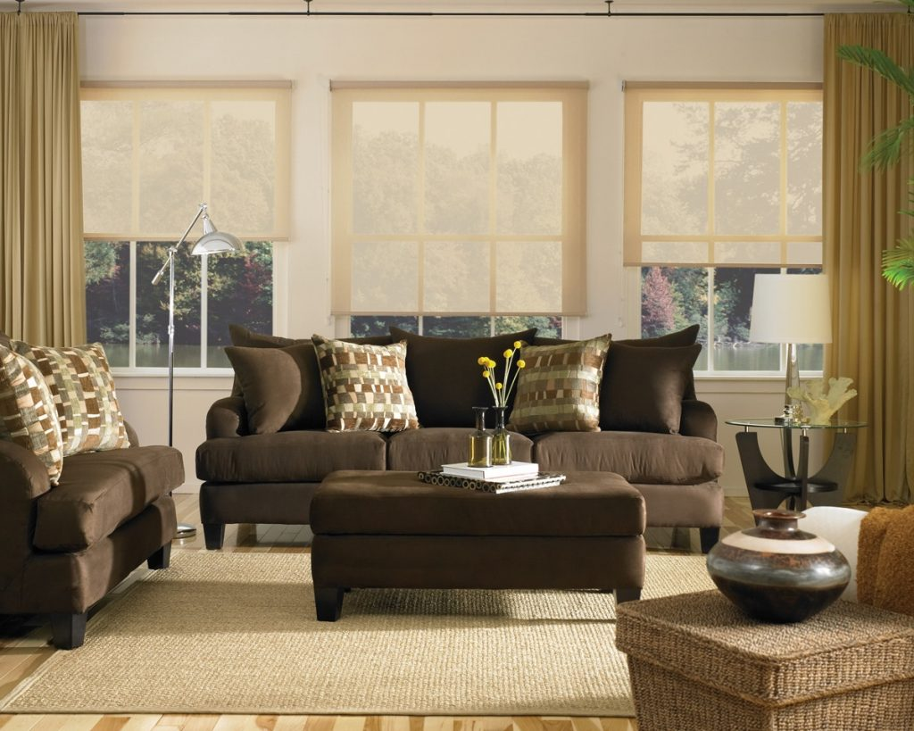 Brown Couch Living Room Decor Home Decor Arranging Chocolate