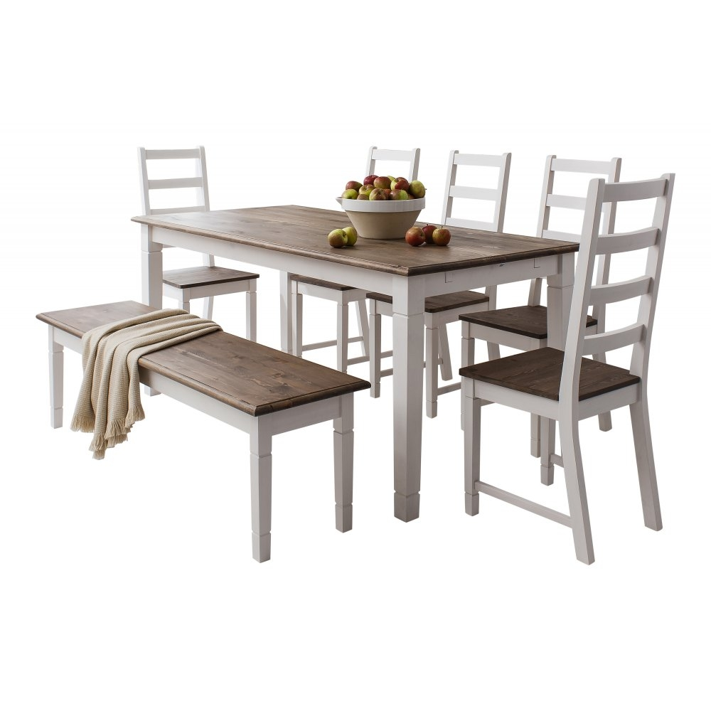 Canterbury Dining Table With 4 Chairs Bench Noa Nani And Plan 1