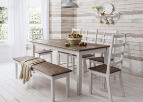 Dining Room Chairs And Bench
