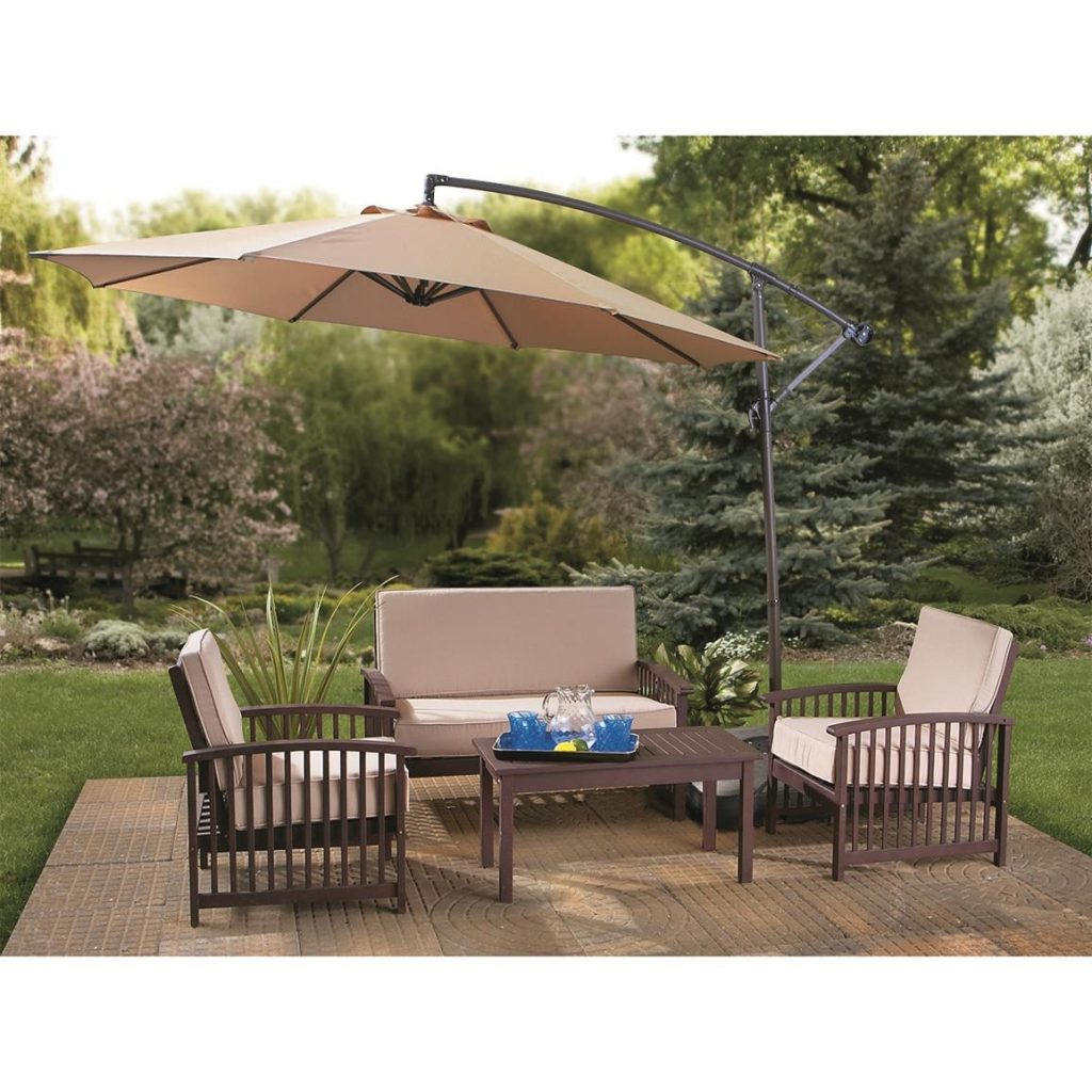 Castlecreek 10 Cantilever Patio Umbrella 234178 Patio Umbrellas