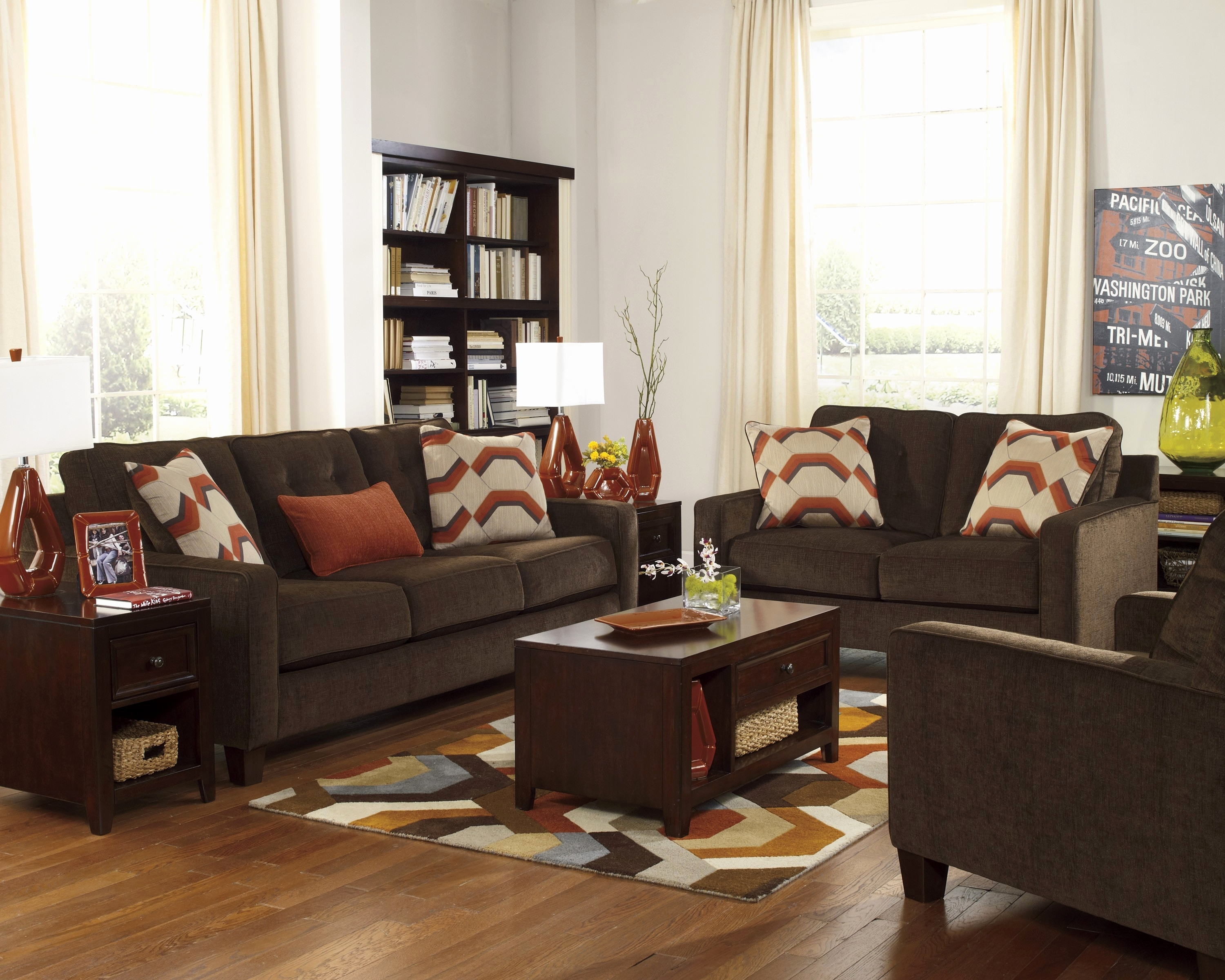 Chocolate Sofa Living Room Ideas