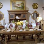 Classic Country French Dining Room Clark Antiques Gallery Clark
