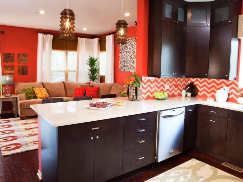 Color Schemes Dining Room Kitchen Attractive Home Great Colors Comfy