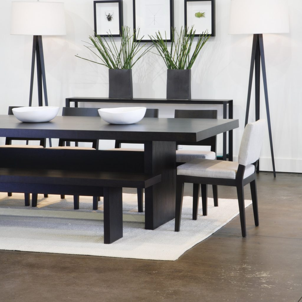 Contemporary Dining Room Sets With Benches Decor Welcome To King
