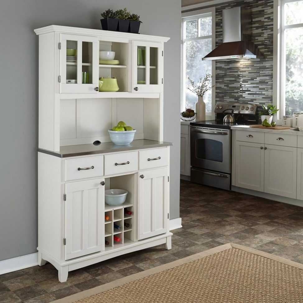Corner Dining Room Hutch White Trends And Charming For Images