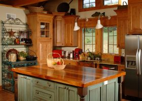 Country Kitchens Designs With Island