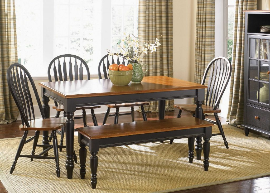 Country Style Dining Room Sets With Additional Astonishing Furniture