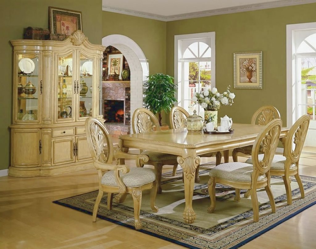 Cream Colored Dining Chairs New Cream Dining Room Sets Homes Design
