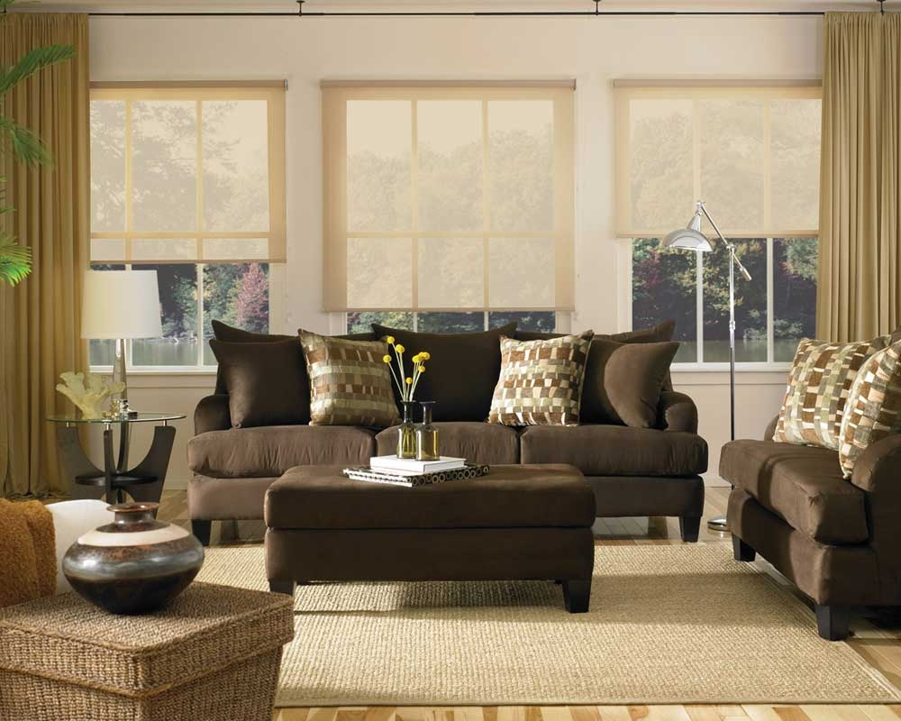 Curtains For Living Room With Brown Furniture Ideas Option