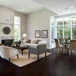 Dark Hardwood Floor Living Room Ideas Hardwoods Design Pictures Of