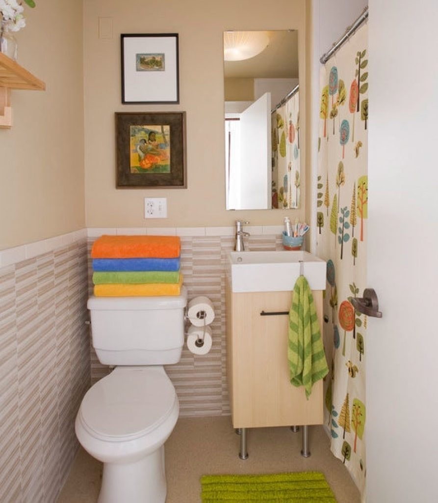 Decorating Small Bathrooms On A Budget Home Interior Design Ideas