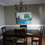 Decoration How To Decorate A Dining Room Table Popular Kitchen Paint