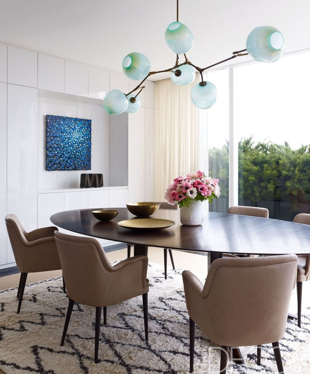 Decoration White Dining Room Decor Modern Dining Room Table Decor