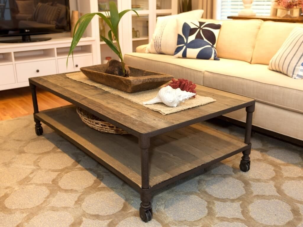 Delightful Living Room Tables 23 Rustic Coffee Table Design With