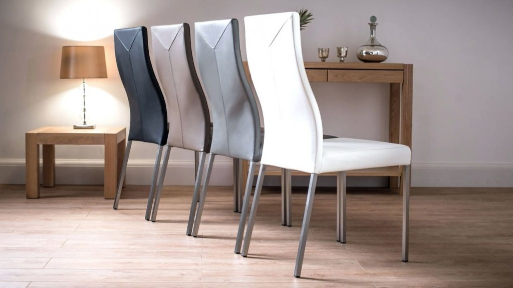 Dining Chairs Grey Dining Chairs With Chrome Legs Thesecretconsul