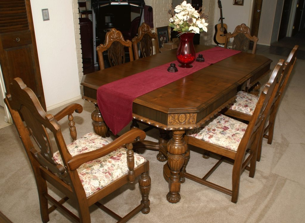 Dining Room Antique Dining Table And Chairs Contemporary Perfect