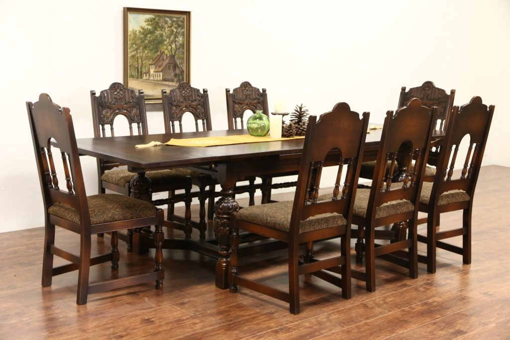 Dining Room Chair Antique Dining Antique Oak Dining Room Table