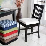 Dining Room Chair Cushion Cover The Freshness Of Your Black Dining