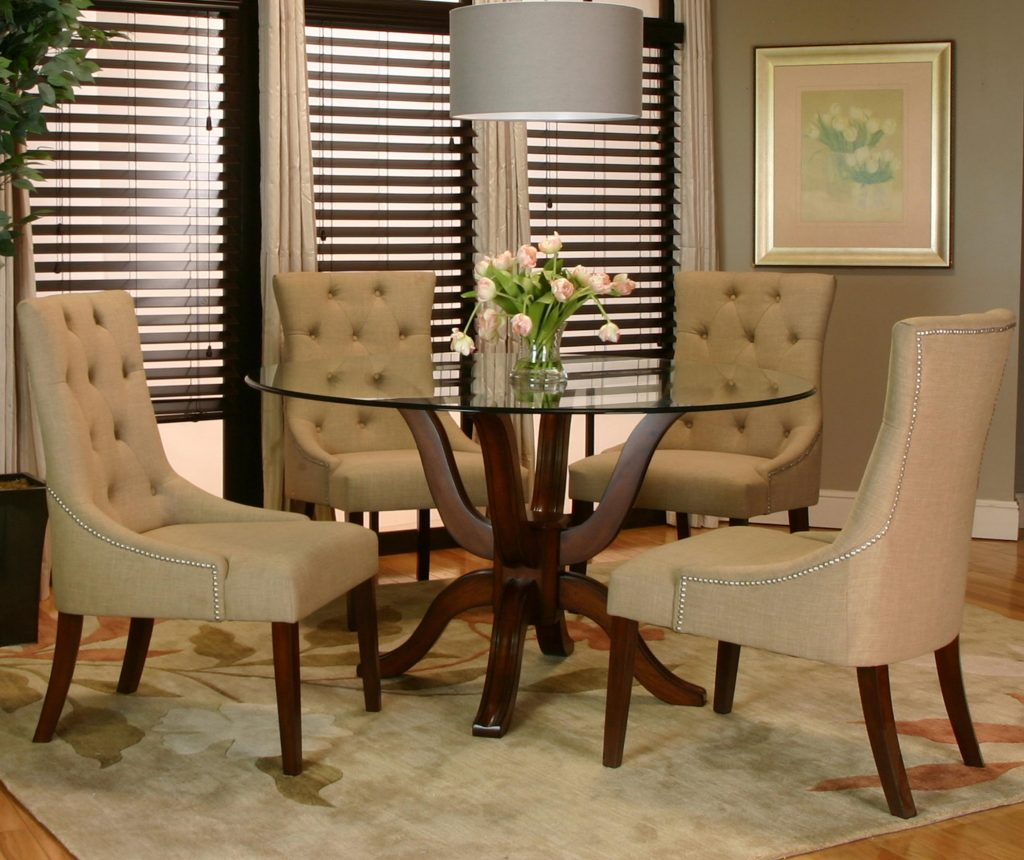 Dining Room Chair Dining Room Table With Leather Chairs Designer