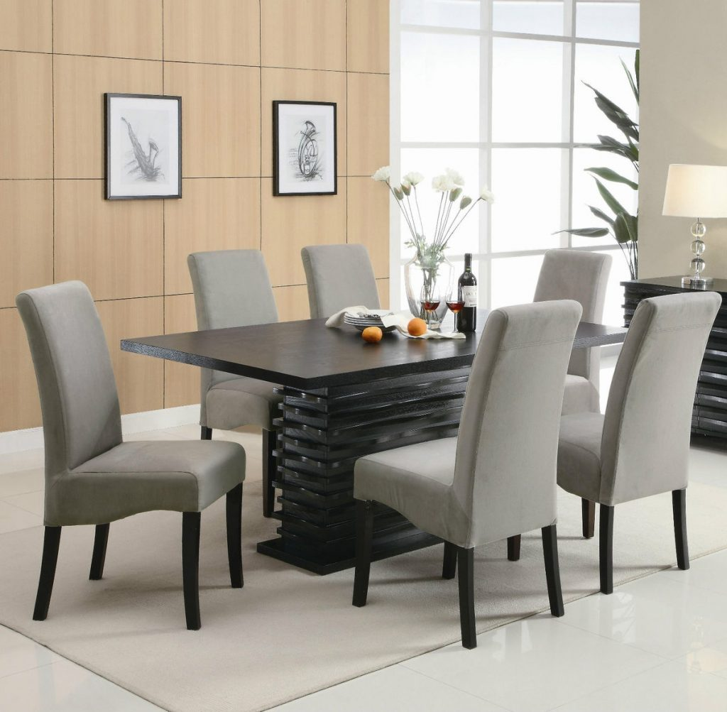 Dining Room Chairs Modern Impressive With Photos Of Dining Room