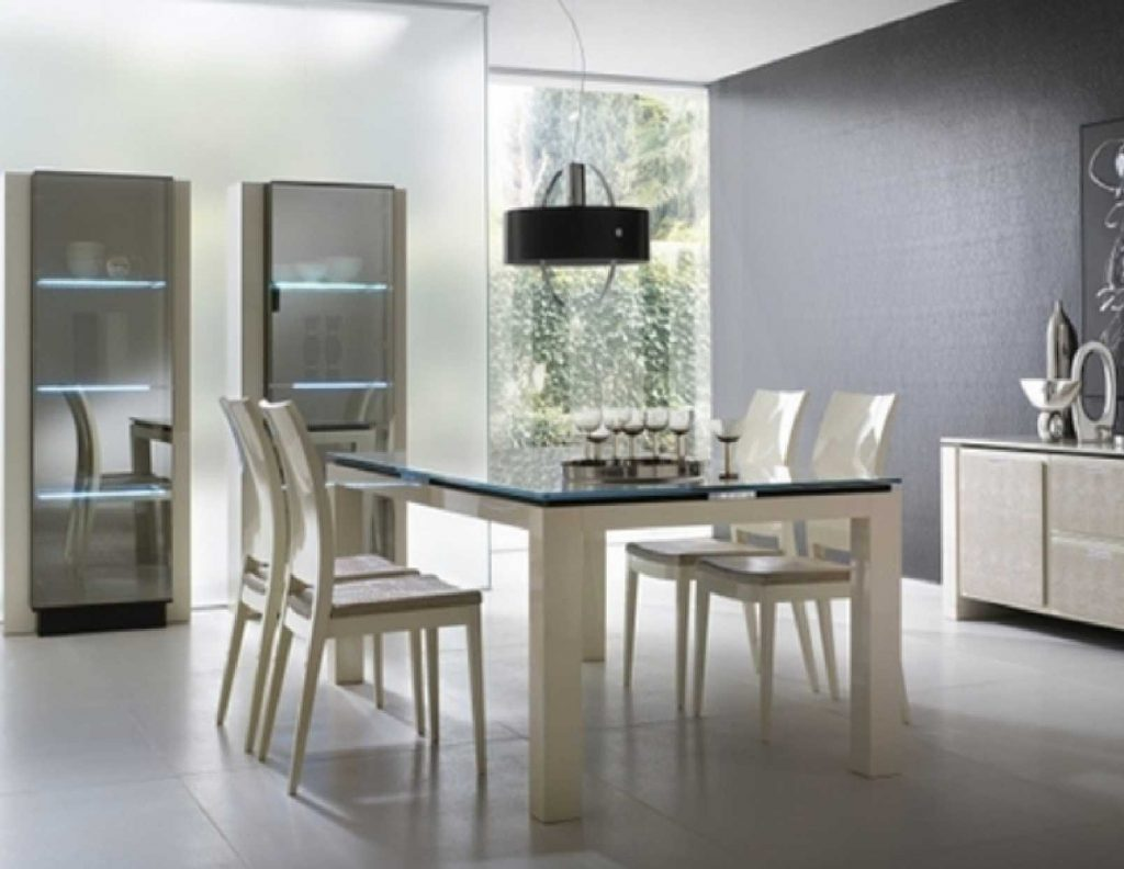 Dining Room Contemporary Dining Room Sets For Modern Formal White