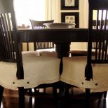 Dining Room Engaging Seat Cushions Chair Seats Regarding Decor 5