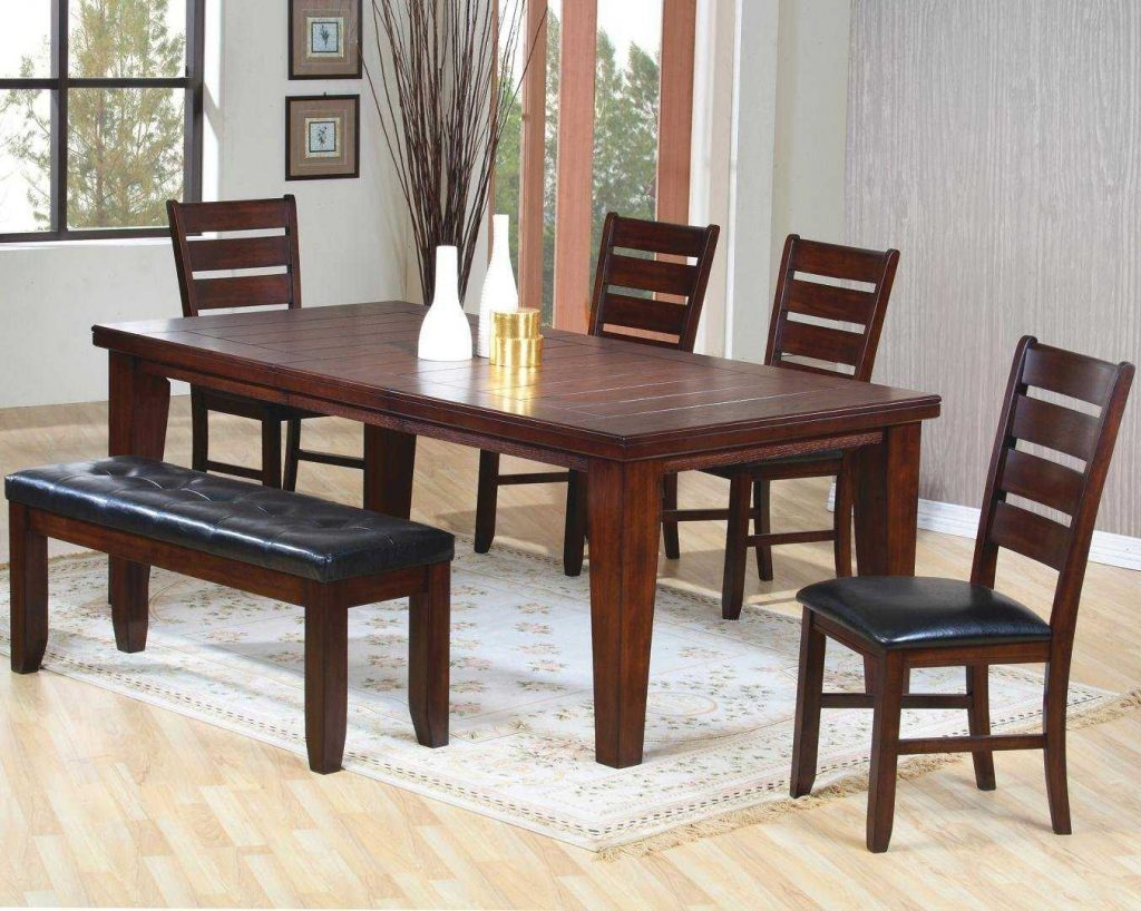 Dining Room Furniture Bench Ideas With Awesome Sets And Chairs