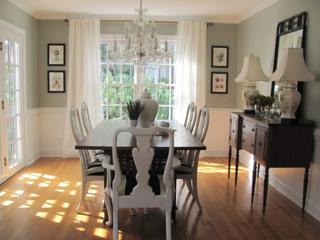 Dining Room Paint Colors With Chair Rail Google Search Forever