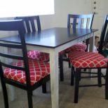 Dining Room Seat Cushion Home Ideas Kitchen Chair Seat Replacement
