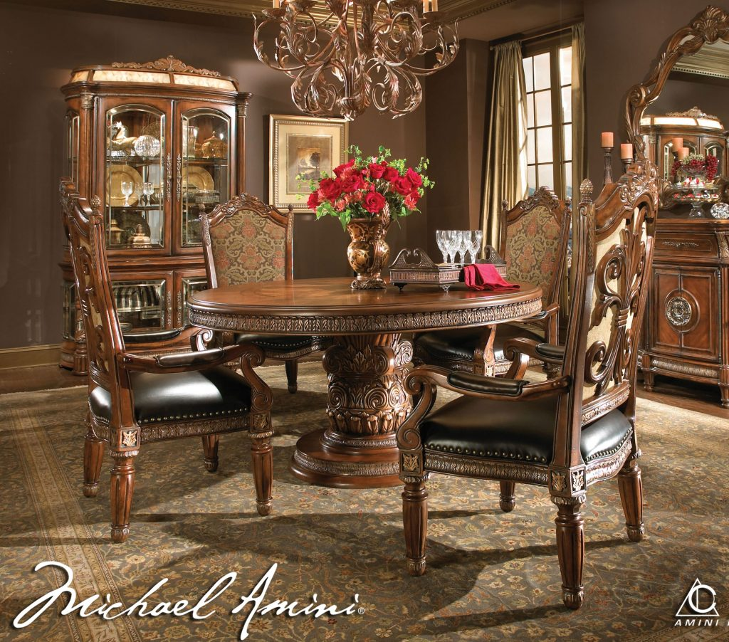 Dining Room Traditional Magazines Living Manufacturers Round From
