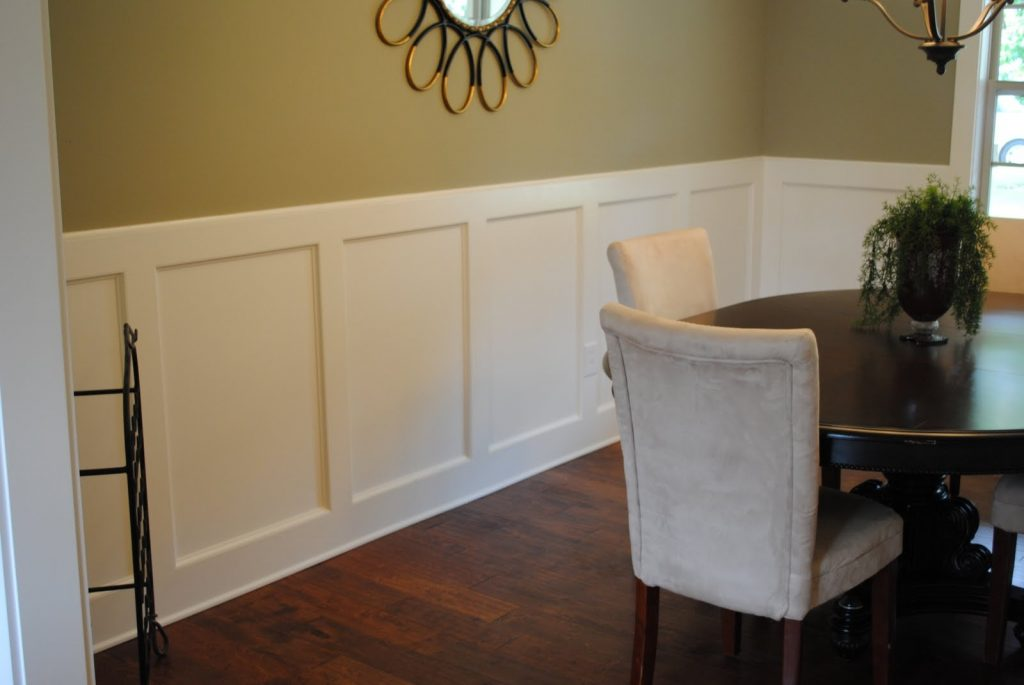 Dining Rooms With Chair Rail Paint Ideas Simple Home Artnak