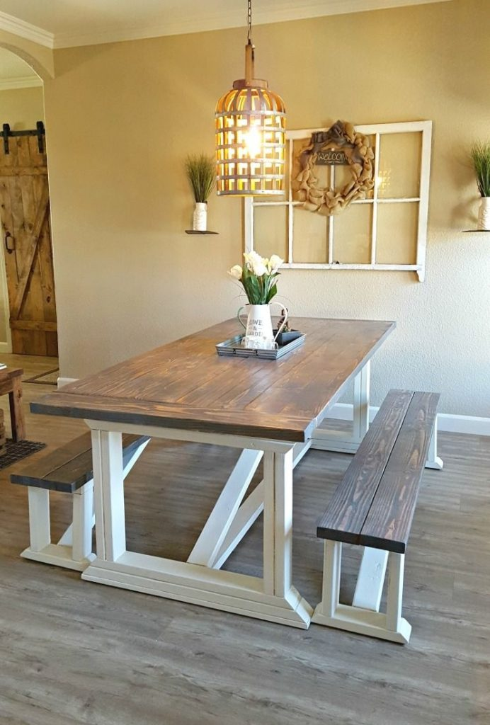 Diy Farmhouse Table Diy Pinterest Farmhouse Table Plans Diy